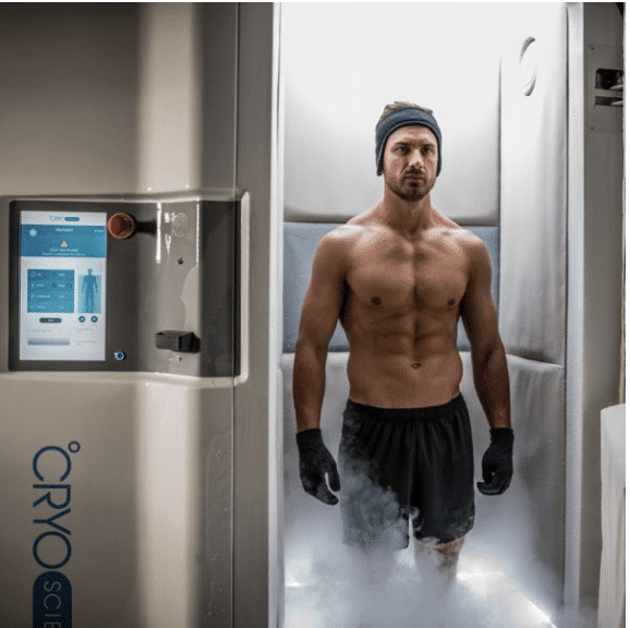 How it looks like inside a cryotherapy chamber