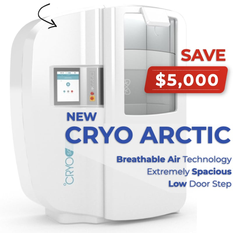 The Cryo Arctic is On Promotion! Save $5,000