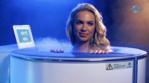 This isn't the best looking cryo sauna but it's a great choice if you're on budget