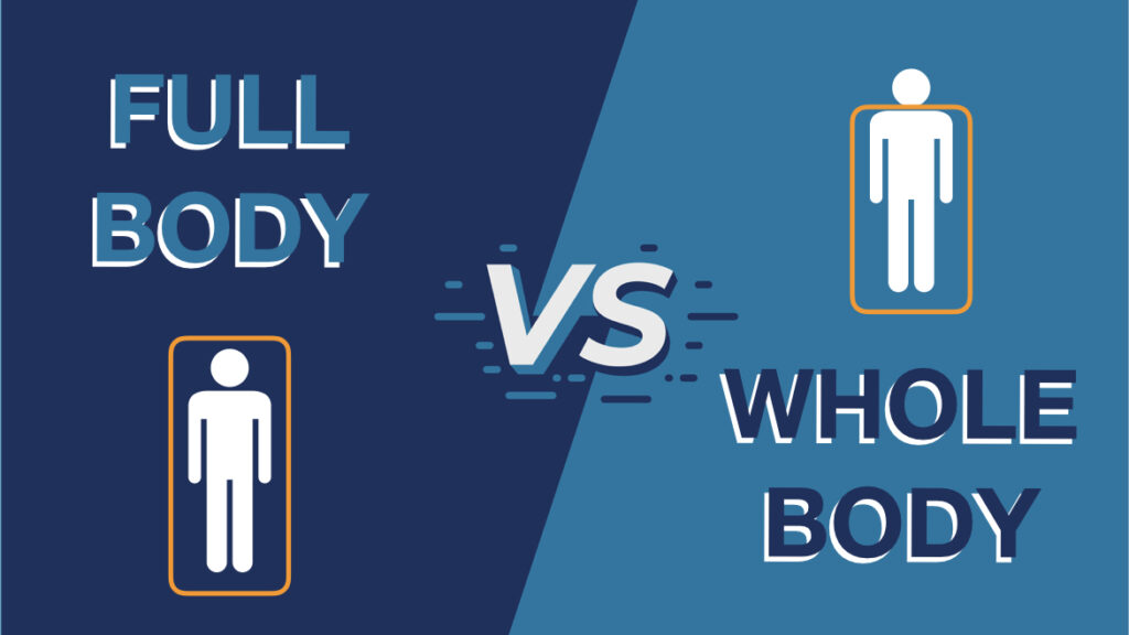 There is a difference between whole-body and full-body cryotherapy machines
